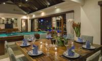 Lataliana Villa Two Dining Area | Seminyak, Bali
