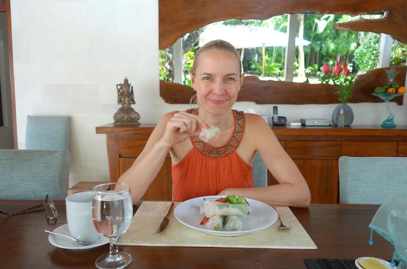 Bali Seminyak Lataliana Villa Dining