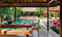 Villa Kalimaya Villa Kalimaya One Pool Side Dining   Seminyak, Bali