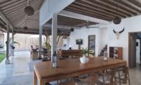 Villa Rabu Indoor Living and Dining Area | Seminyak, Bali