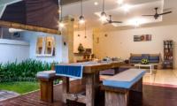 Villa Rasi Dining Area | Seminyak, Bali