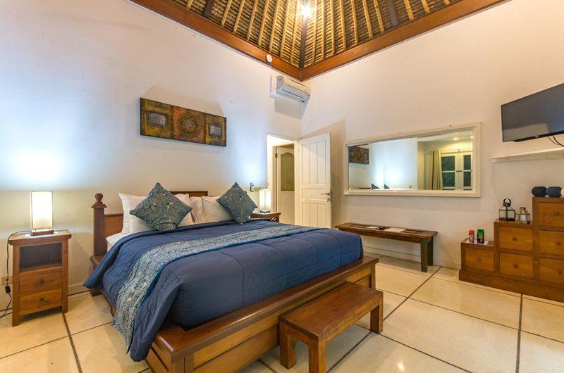 Villa Rasi Bedroom with TV | Seminyak, Bali