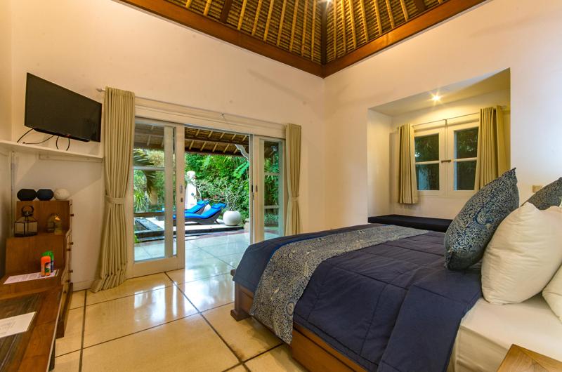 Villa Rasi Bedroom with Pool View | Seminyak, Bali