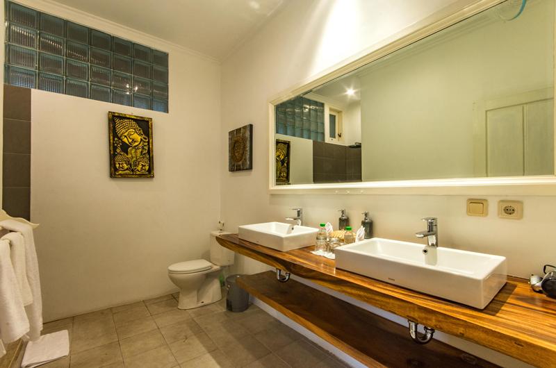 Villa Rasi His and Hers Bathroom | Seminyak, Bali