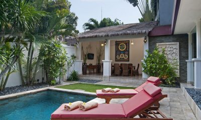 Villa Selasa Sun Loungers | Seminyak, Bali