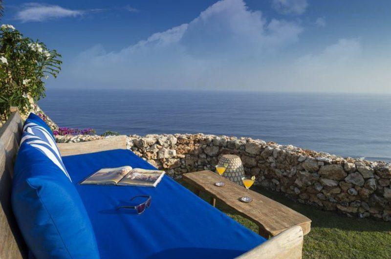 Villa Sol Y Mar Outdoor Seating Area with Ocean View | Uluwatu, Bali