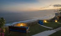 Villa Sol Y Mar Outdoor Seating Area with Sea View | Uluwatu, Bali