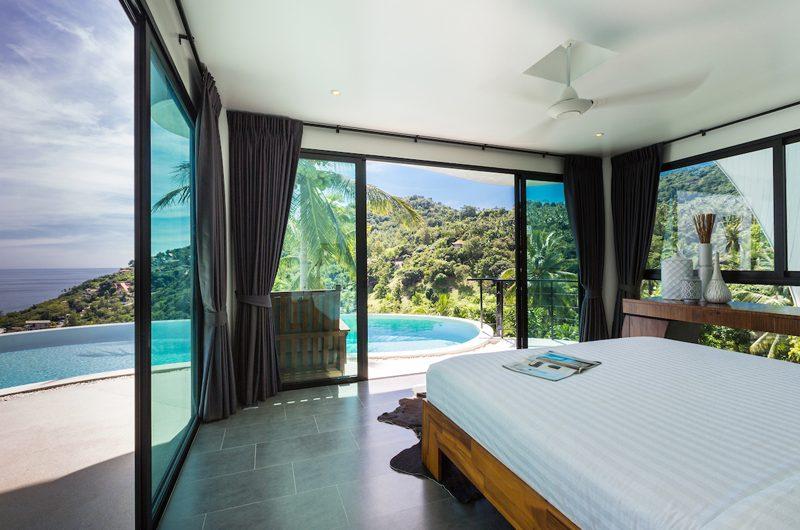 Villa Shadow Bedroom with Pool View | Chaweng, Koh Samui