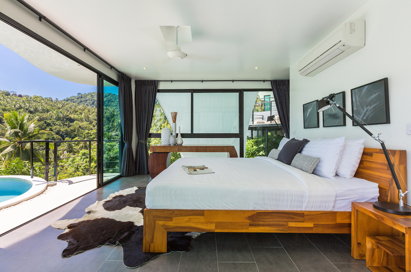 Villa Shadow King Size Bed with Pool View | Chaweng, Koh Samui
