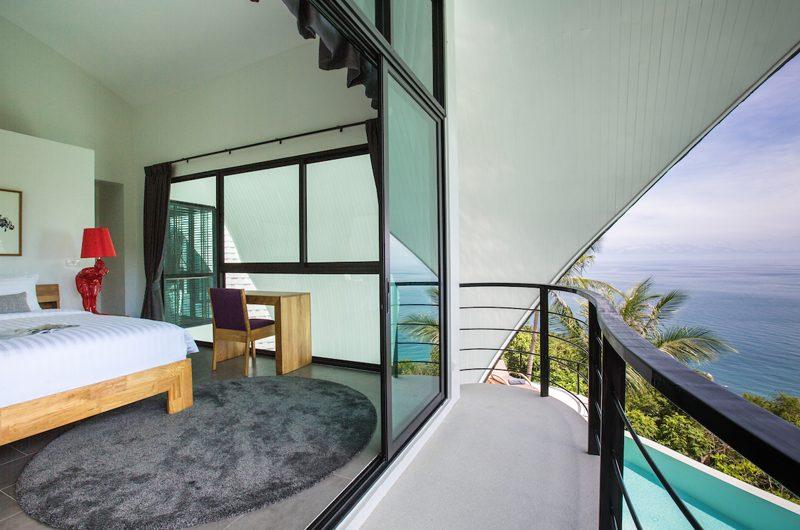 Villa Shadow Bedroom with Sea View | Chaweng, Koh Samui