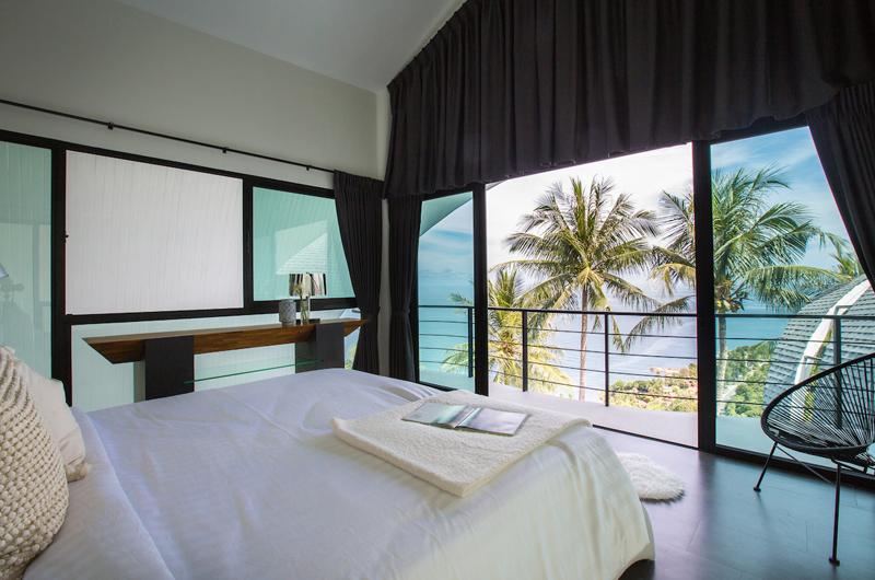 Villa Shadow Bedroom and Balcony | Chaweng, Koh Samui
