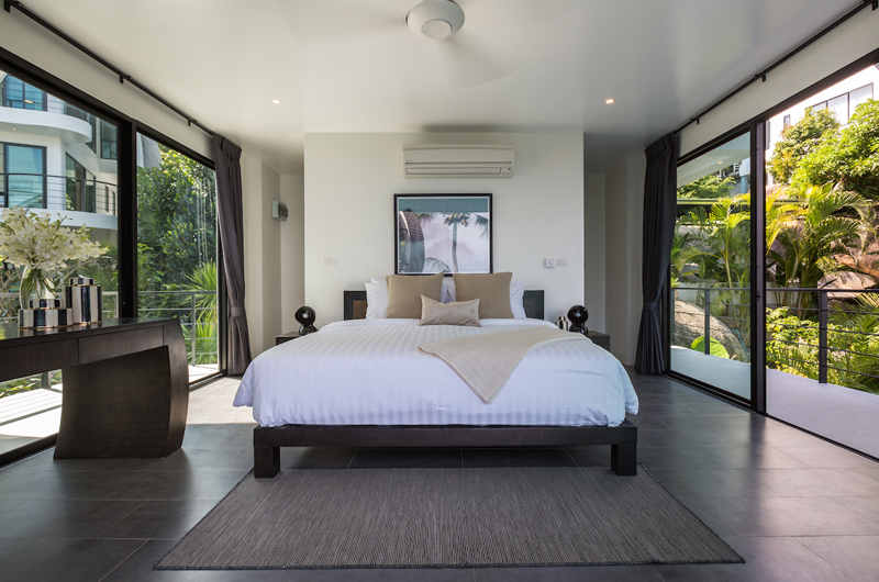Villa Shadow Bedroom with Garden View | Chaweng, Koh Samui