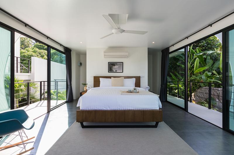 Villa Shadow Bedroom View | Chaweng, Koh Samui