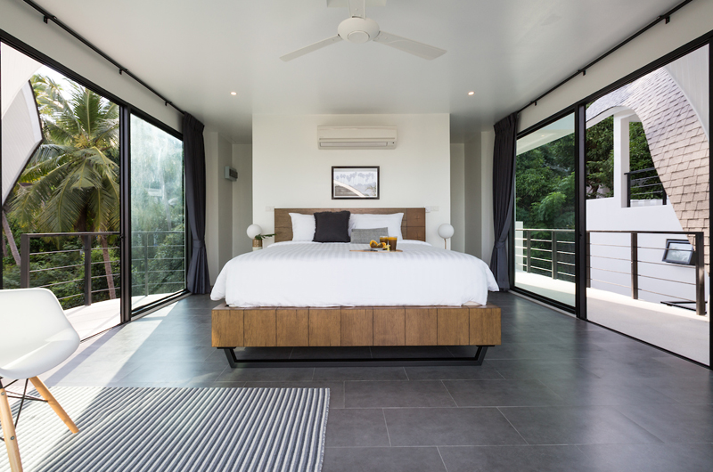 Villa Shadow Bedroom with Seating Area | Chaweng, Koh Samui