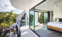 Villa Shadow Bedroom and Balcony with Pool View | Chaweng, Koh Samui