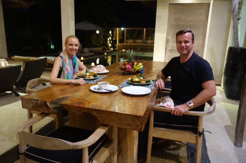 Villa Massilia Villa 3 Alastair and Sara Indonesian Dinner | Seminyak, Bali