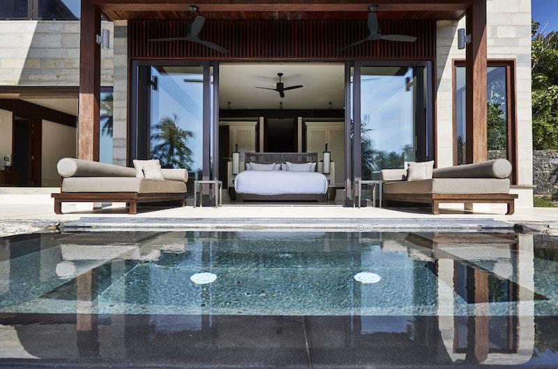 Sri Lanka Ani Villas Bedroom-pool