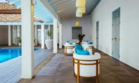 Ishq Villa Pool Side Lounge Area | Talpe, Sri Lanka