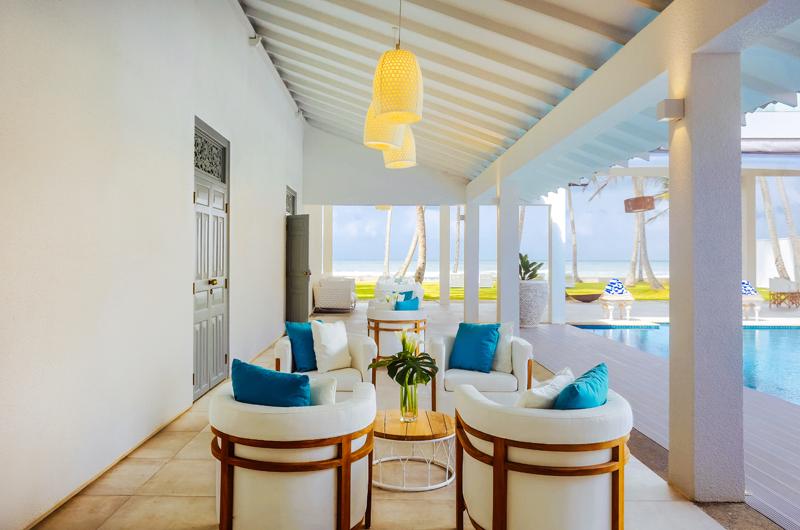 Ishq Villa Pool Side Seating Area | Talpe, Sri Lanka