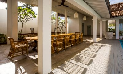 Ishq Villa Outdoor Dining | Talpe, Sri Lanka