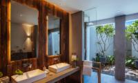 Ishq Villa His and Hers Bathroom | Talpe, Sri Lanka