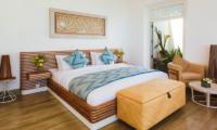 ISHQ Villa Bedroom with Wooden Floor | Talpe, Sri Lanka