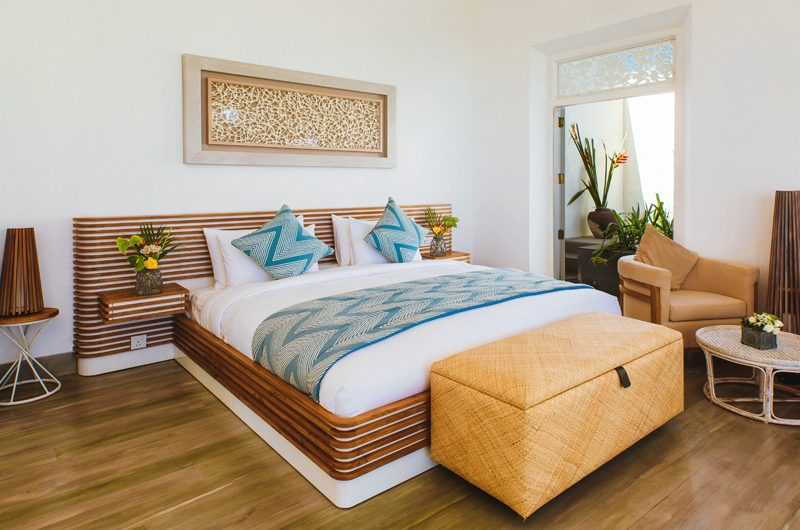 ISHQ Villa Bedroom with Wooden Floor | Talpe, Sri Lanka