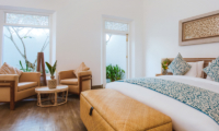 ISHQ Villa Bedroom with Seating Area | Talpe, Sri Lanka