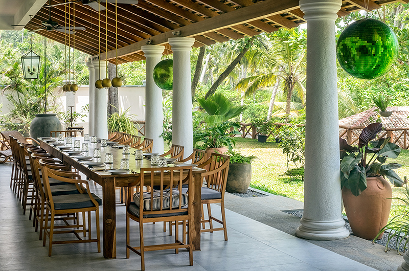 Meda Gedara Dining Table | Dickwella, Sri Lanka