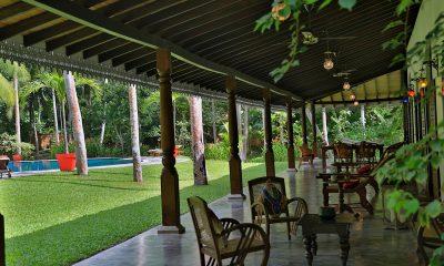 Villa Sepalika Outdoor Seating Area | Talpe, Sri Lanka