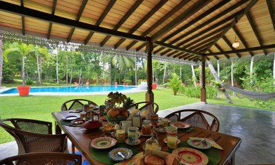 Villa Sepalika Outdoor Dining | Talpe, Sri Lanka