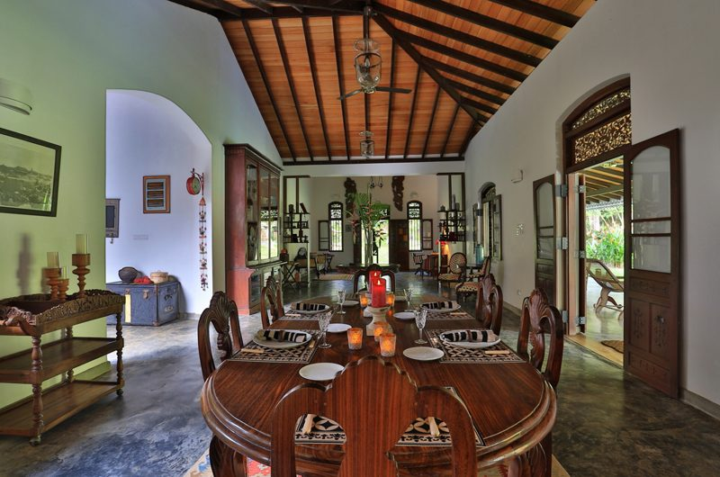 Villa Sepalika Living and Dining Area | Talpe, Sri Lanka