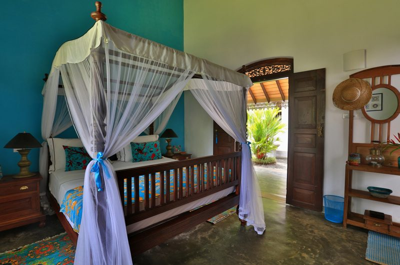 Villa Sepalika Bedroom with Garden View | Talpe, Sri Lanka
