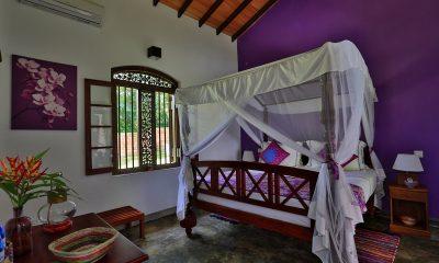 Villa Sepalika Bedroom with Table Lamp | Talpe, Sri Lanka