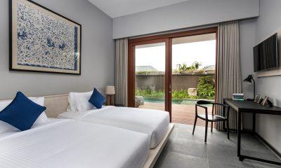Amarin Seminyak Twin Bedroom with Pool View | Seminyak, Bali