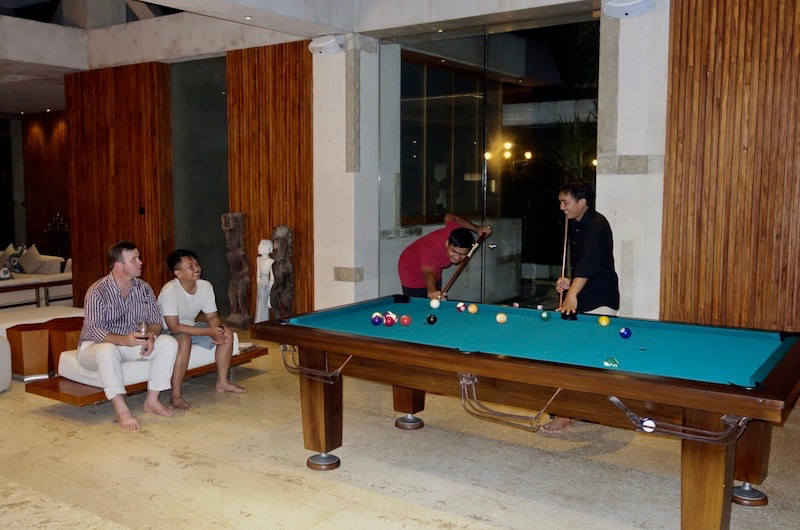 Bali Tabanan Villa Vedas Billiard Table