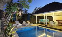 Villa Alun Night View | Batubelig, Bali