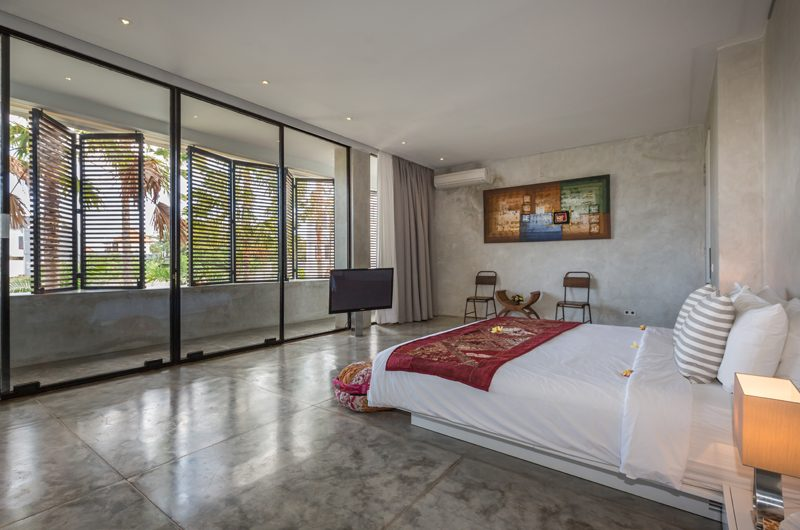 Villa Mikayla Bedroom with TV | Canggu, Bali