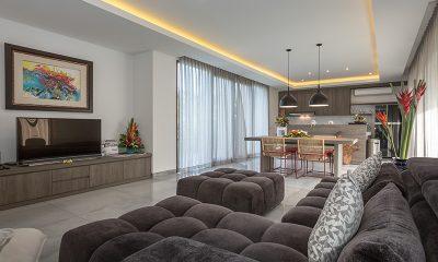 Villa Roemah Natamar Living Room | Canggu, Bali
