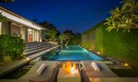 Villa Roemah Natamar Night View   Canggu, Bali