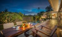 Villa Roemah Natamar Open Plan Dining Area   Canggu, Bali