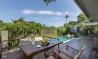 Villa Roemah Natamar Outdoor Dining Table   Canggu, Bali
