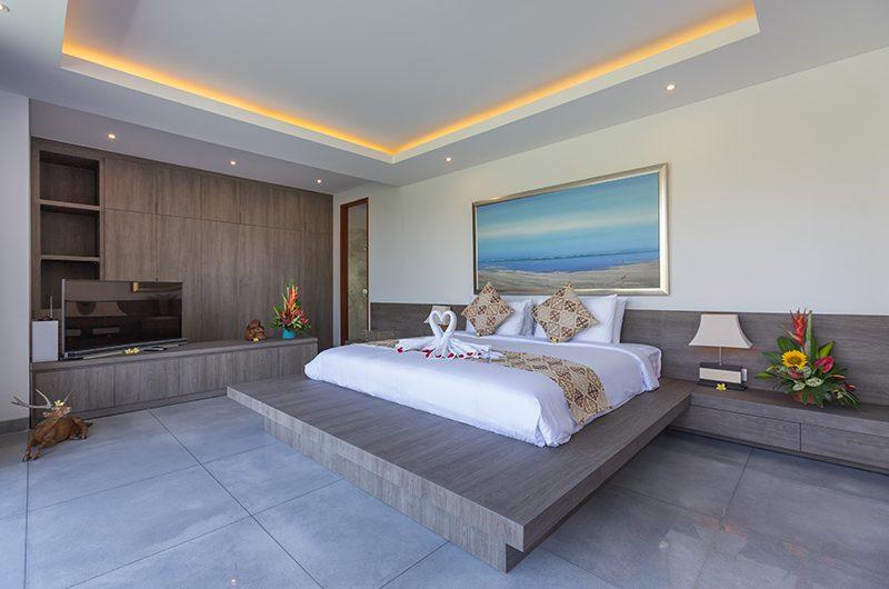 Villa Roemah Natamar Bedroom with TV   Canggu, Bali