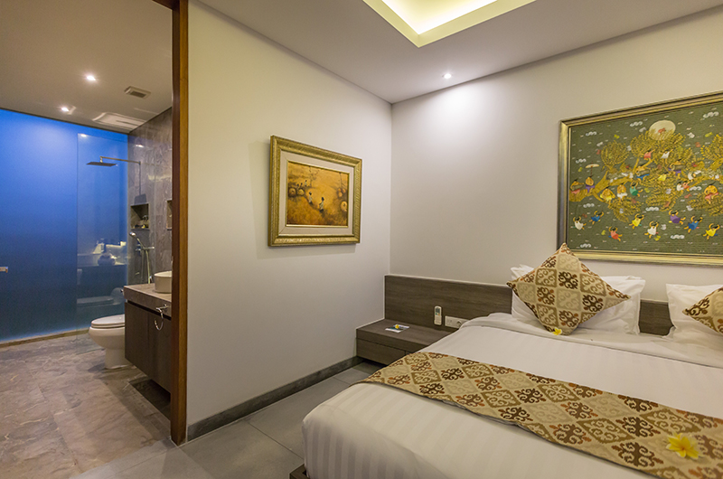 Villa Roemah Natamar Bedroom and Bathroom   Canggu, Bali