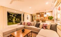 Villa Seriska Jimbaran Living Area with View | Jimbaran, Bali