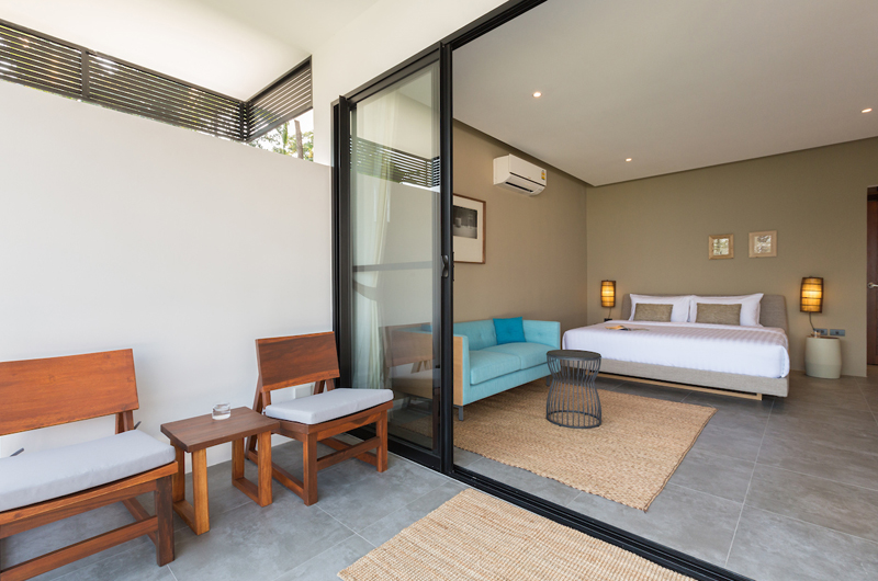 Villa Thansamaay Spacious Bedroom with Sofa | Laem Sor, Koh Samui