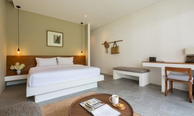Villa Thansamaay Bedroom with Seating Area | Laem Sor, Koh Samui