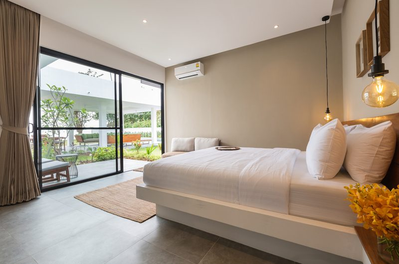 Villa Thansamaay Bedroom and Balcony | Laem Sor, Koh Samui
