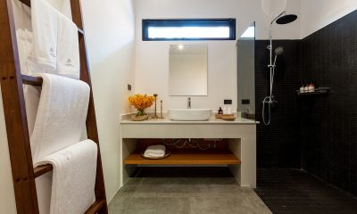 Villa Thansamaay Bathroom View | Laem Sor, Koh Samui