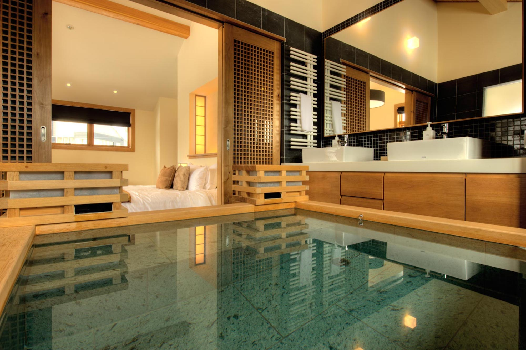 Niseko Chalets with a Private Onsen